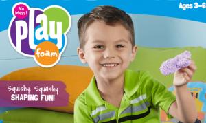 【画像あり】4歳児もPlayFoam(プレイフォーム)で遊ばせてみました。
